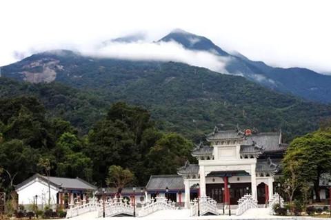 王新元全球艺术巡展写生创作基地落户广东罗浮山