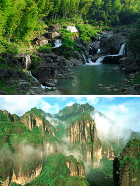 春天最正确的打开方式:温州乡村风情游!